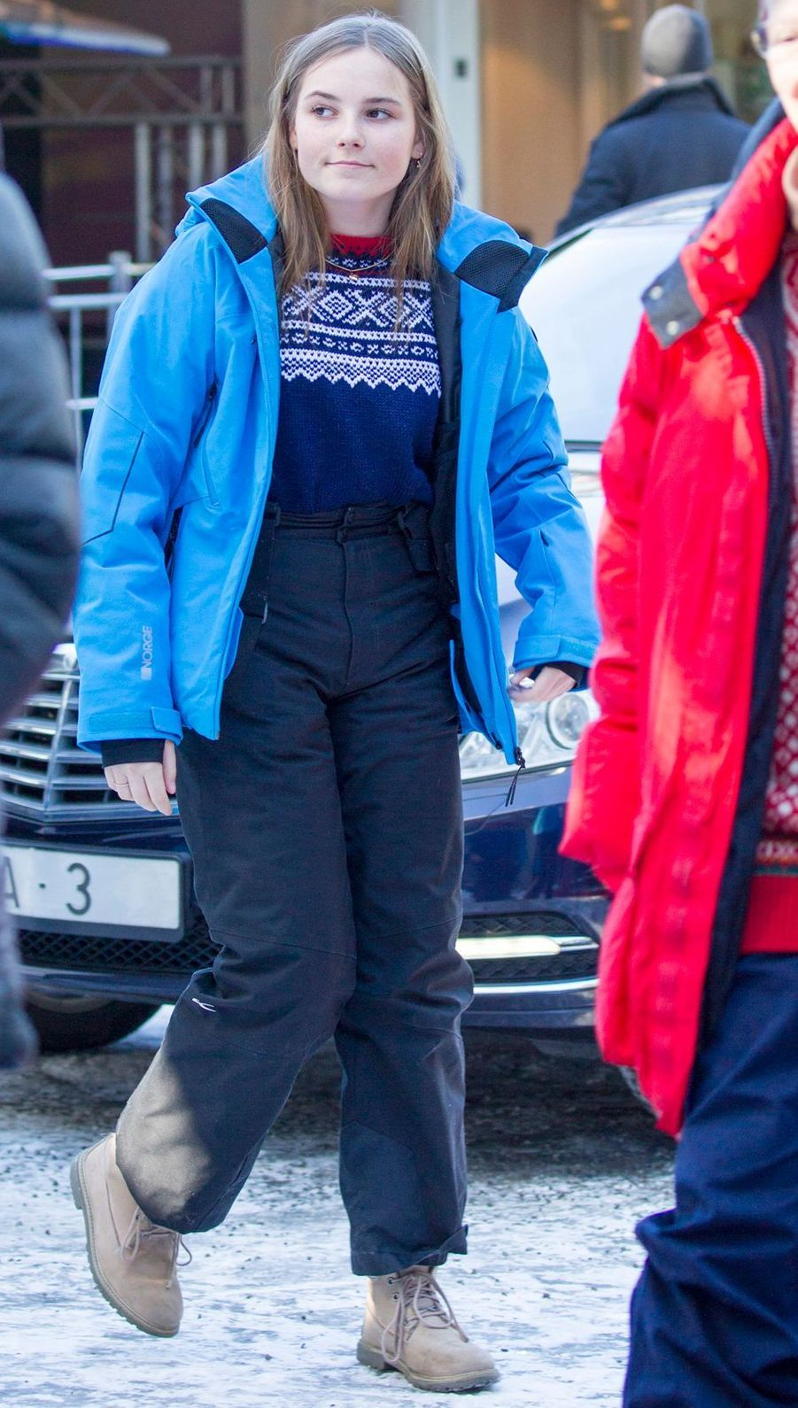 La princesse Ingrid Alexandra de Norvège à Oslo, le 10 mars 2019
