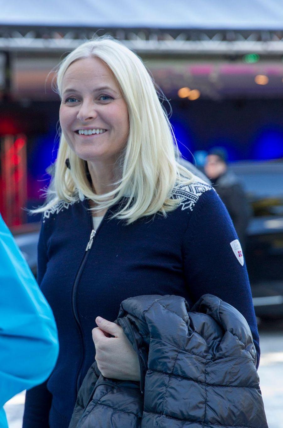 La princesse Mette-Marit de Norvège à Oslo, le 10 mars 2019