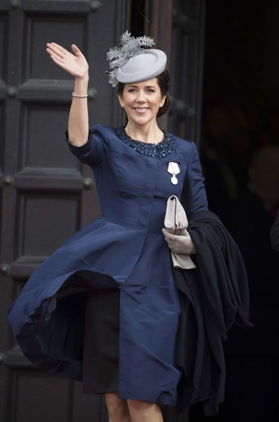 La princesse Mary de Danemark à Copenhague, le 16 avril 2015