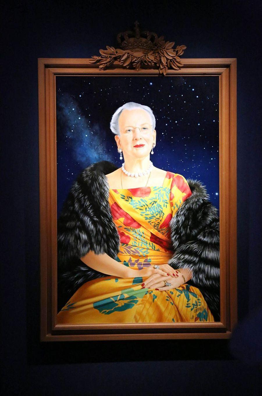 Le nouveau portrait de la reine Margrethe II de Danemark