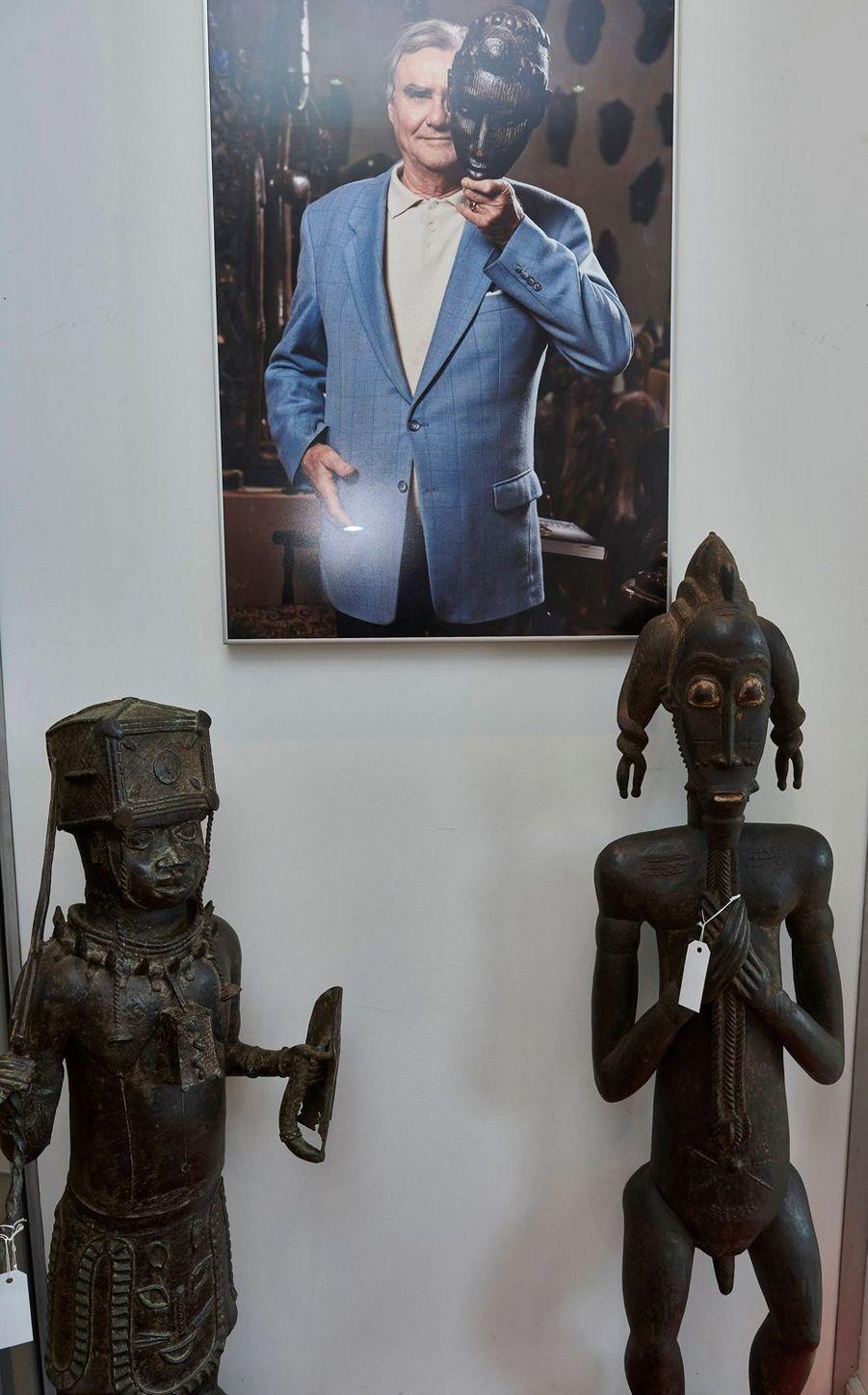 Une partie de la collection du prince consort Henrik de Danemark exposée chez Bruun Rasmussen Auctioneers le 16 août 2019 avant sa vente aux enchères