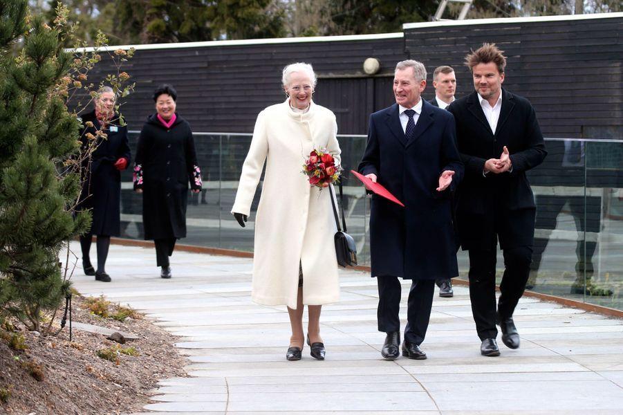 La reine Margrethe II de Danemark, le 10 avril 2019 à Copenhague