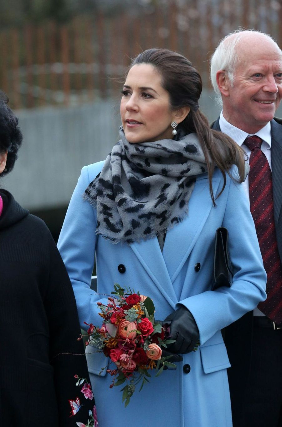 La princesse Mary de Danemark à Copenhague, le 10 avril 2019