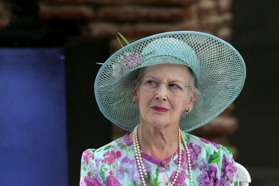 La reine Margrethe II de Danemark à Buenos Aires, le 18 mars 2019
