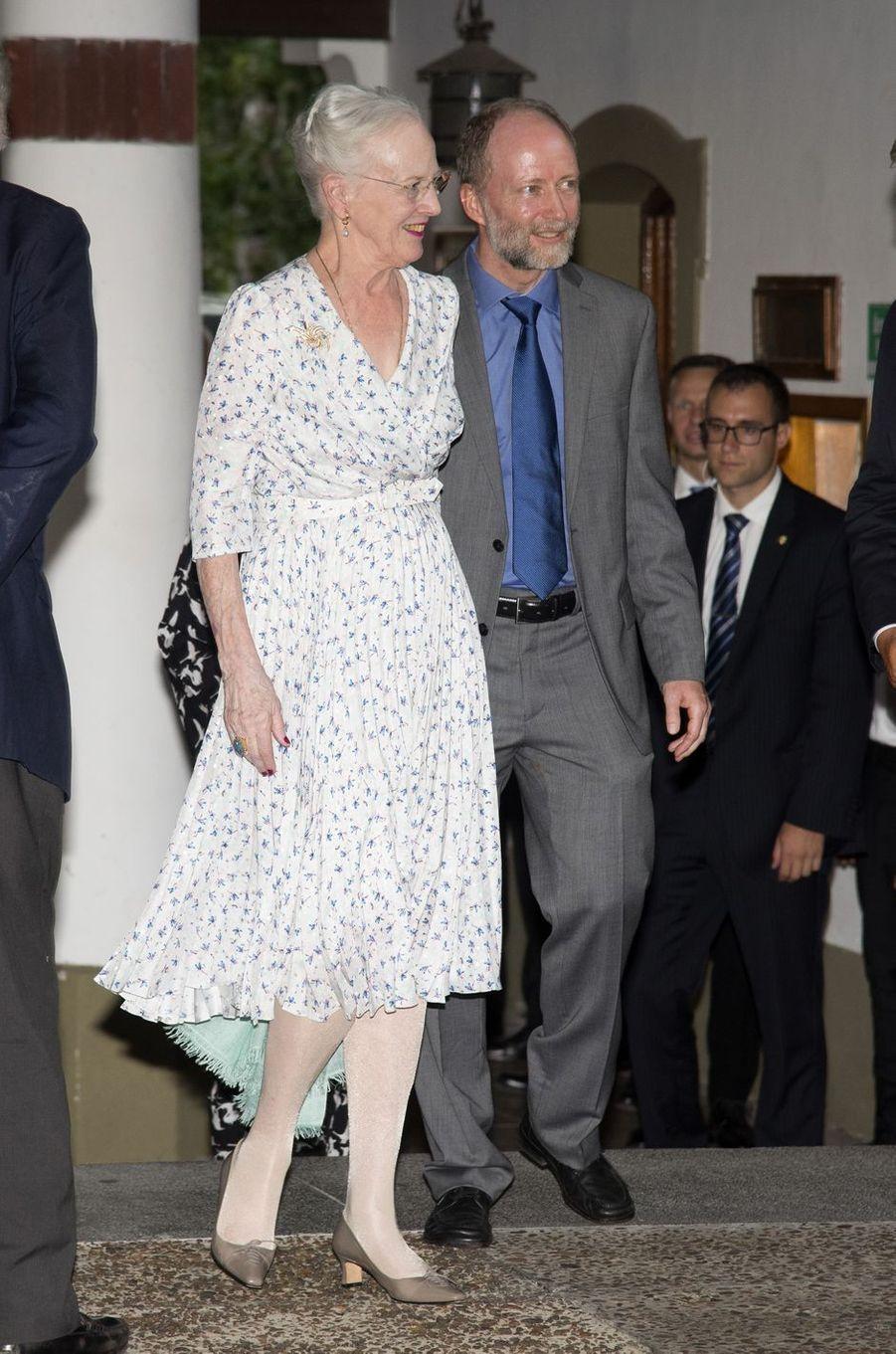 La reine Margrethe II à Buenos Aires, le 18 mars 2019