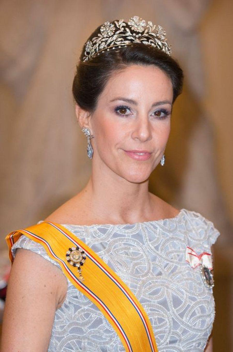 La princesse Marie de Danemark à Copenhague, le 17 mars 2015