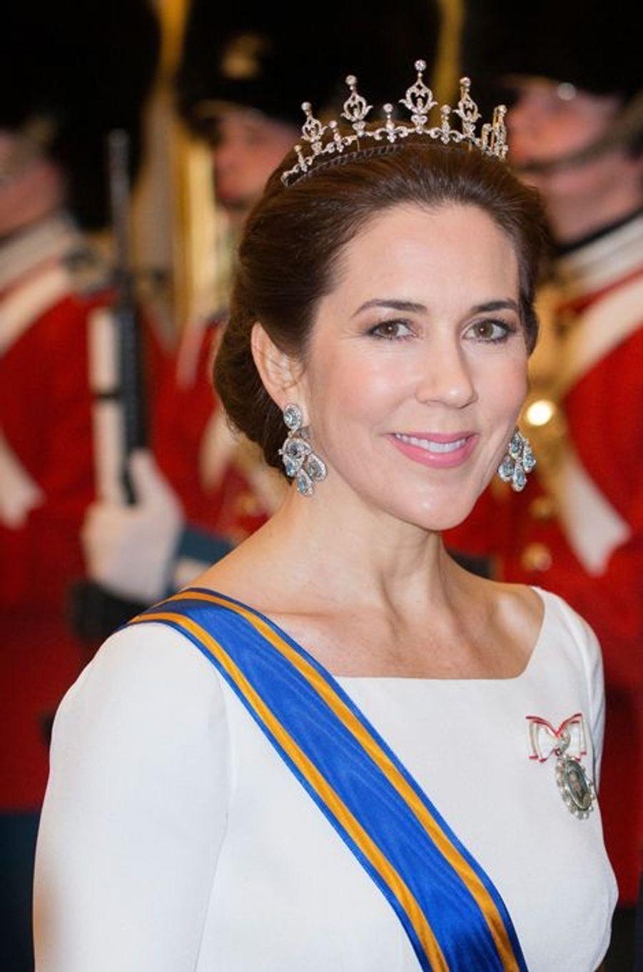 La princesse Mary de Danemark à Copenhague, le 17 mars 2015
