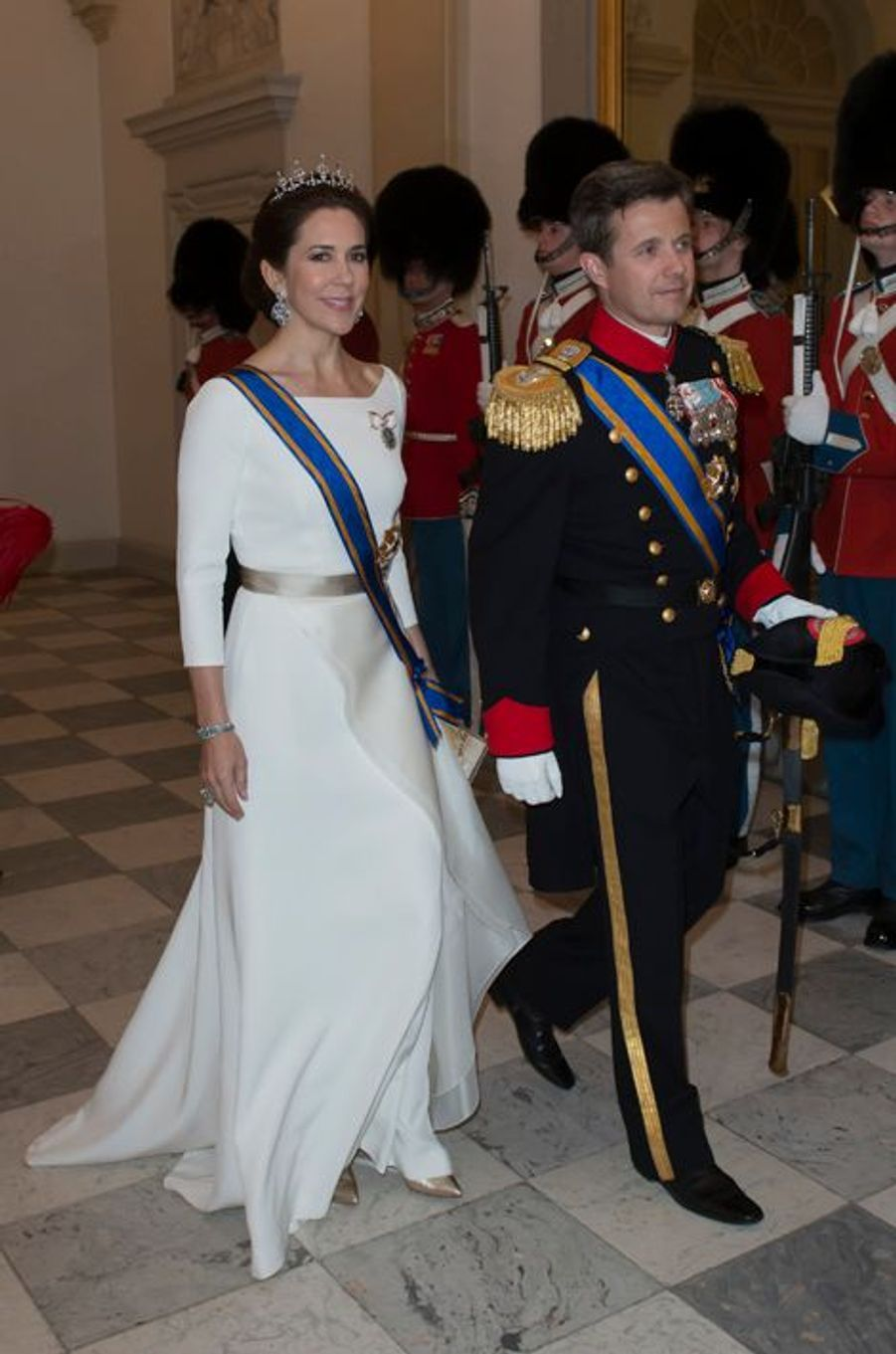 La princesse Mary et le prince Frederik de Danemark à Copenhague, le 17 mars 2015