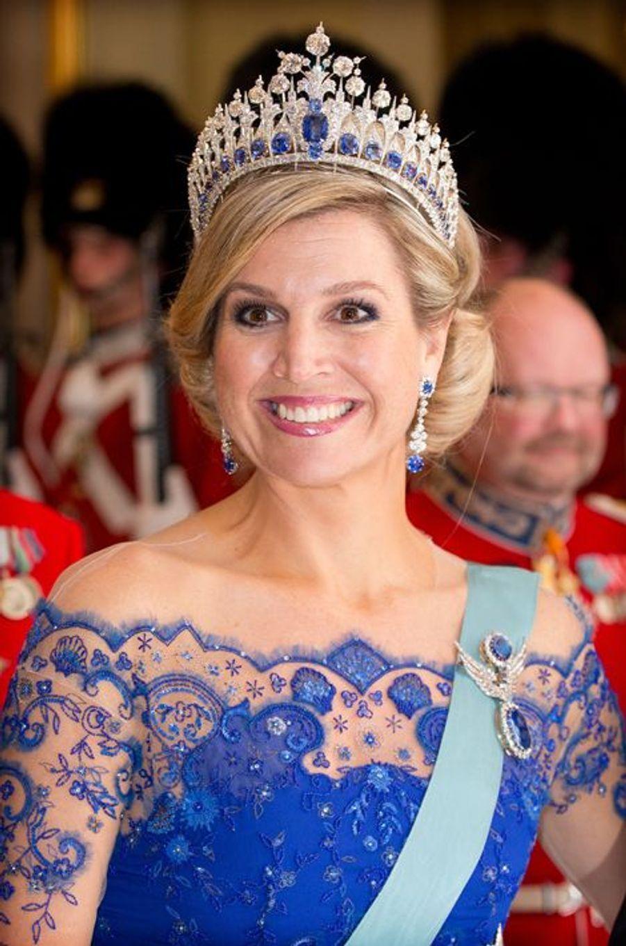 La reine Maxima des Pays-Bas à Copenhague, le 17 mars 2015
