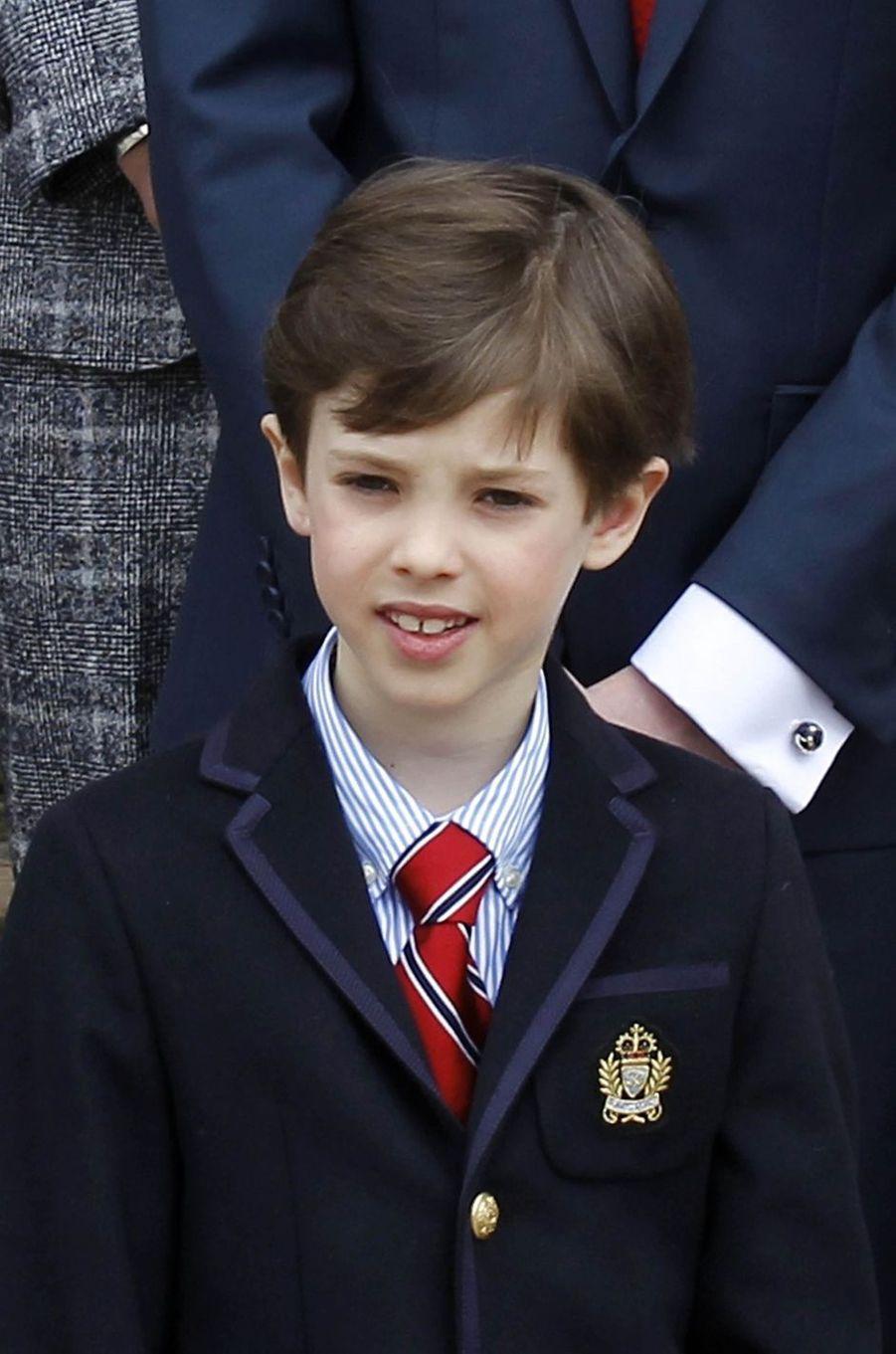Le prince Henrik de Danemark, le 1er avril 2017