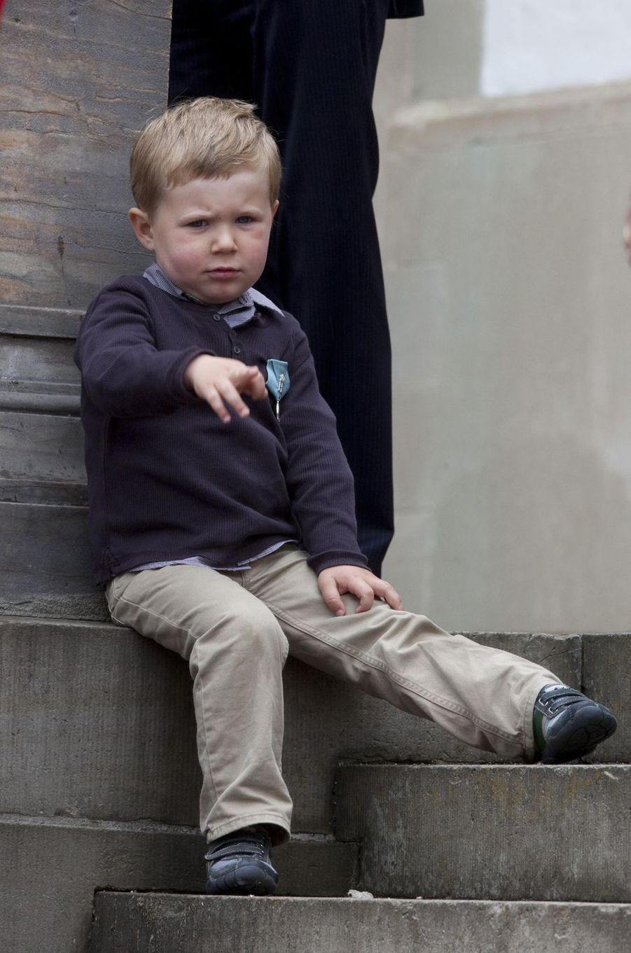Le prince Christian de Danemark, le 11 juin 2009