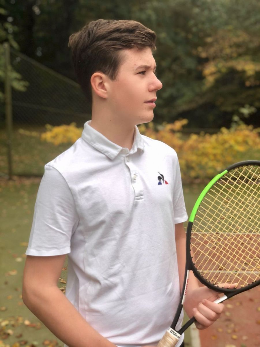 Portrait du prince Christian de Danemark diffusé pour ses 14 ans, le 15 octobre 2019