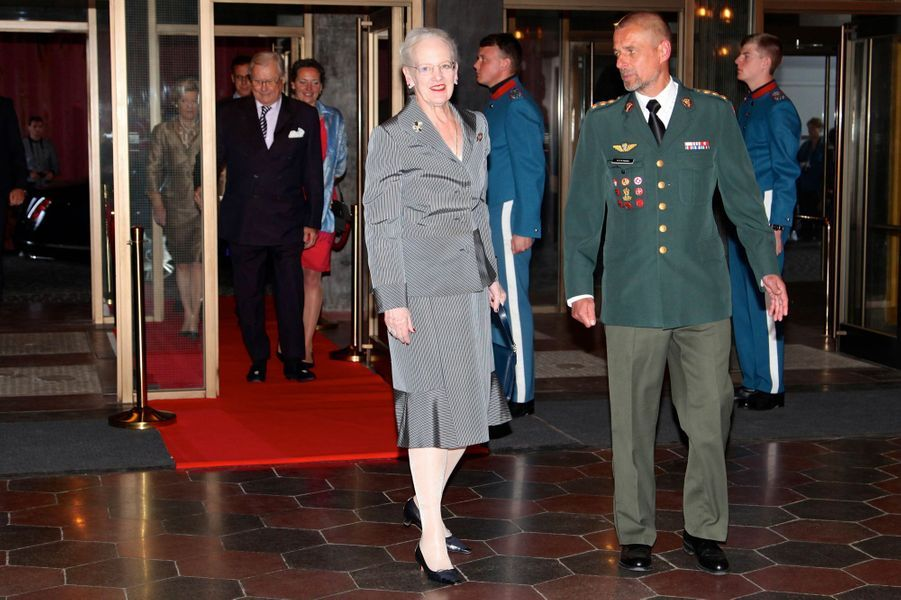La reine Margrethe II de Danemark à Copenhague, le 20 mai 2016