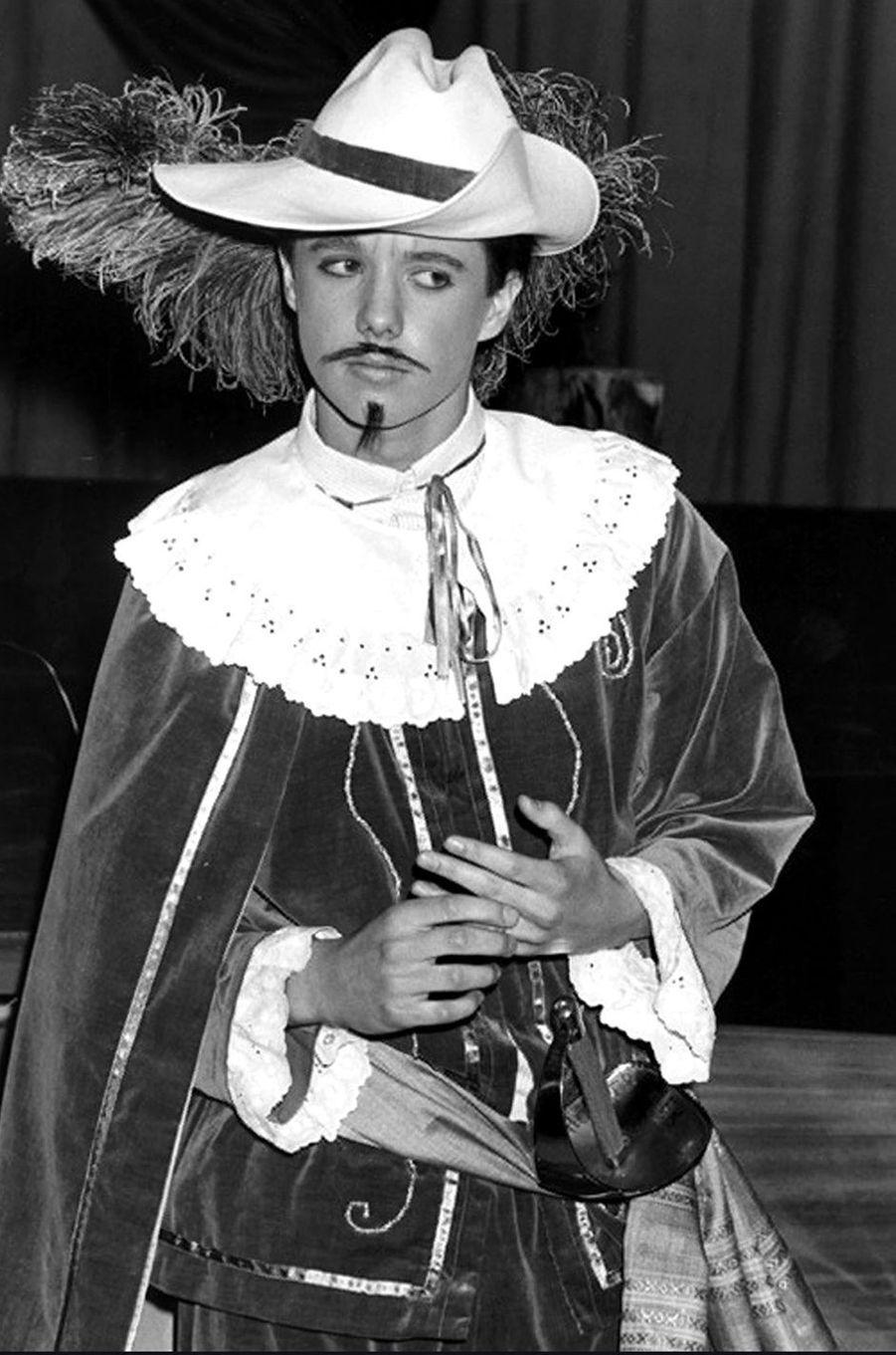 Le prince Frederik de Danemark le 11 novembre 1984