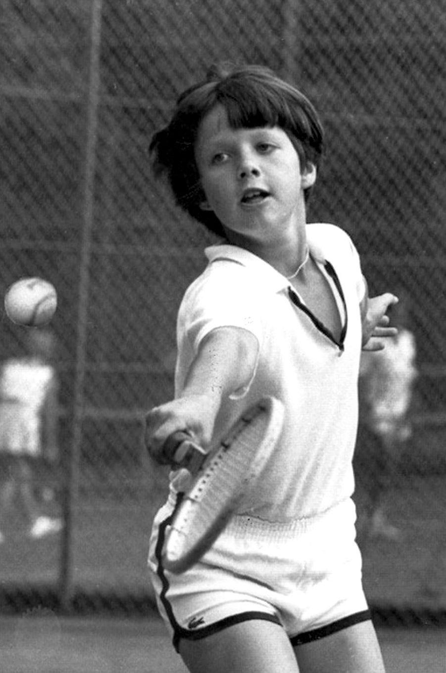 Le prince Frederik de Danemark le 24 juillet 1981