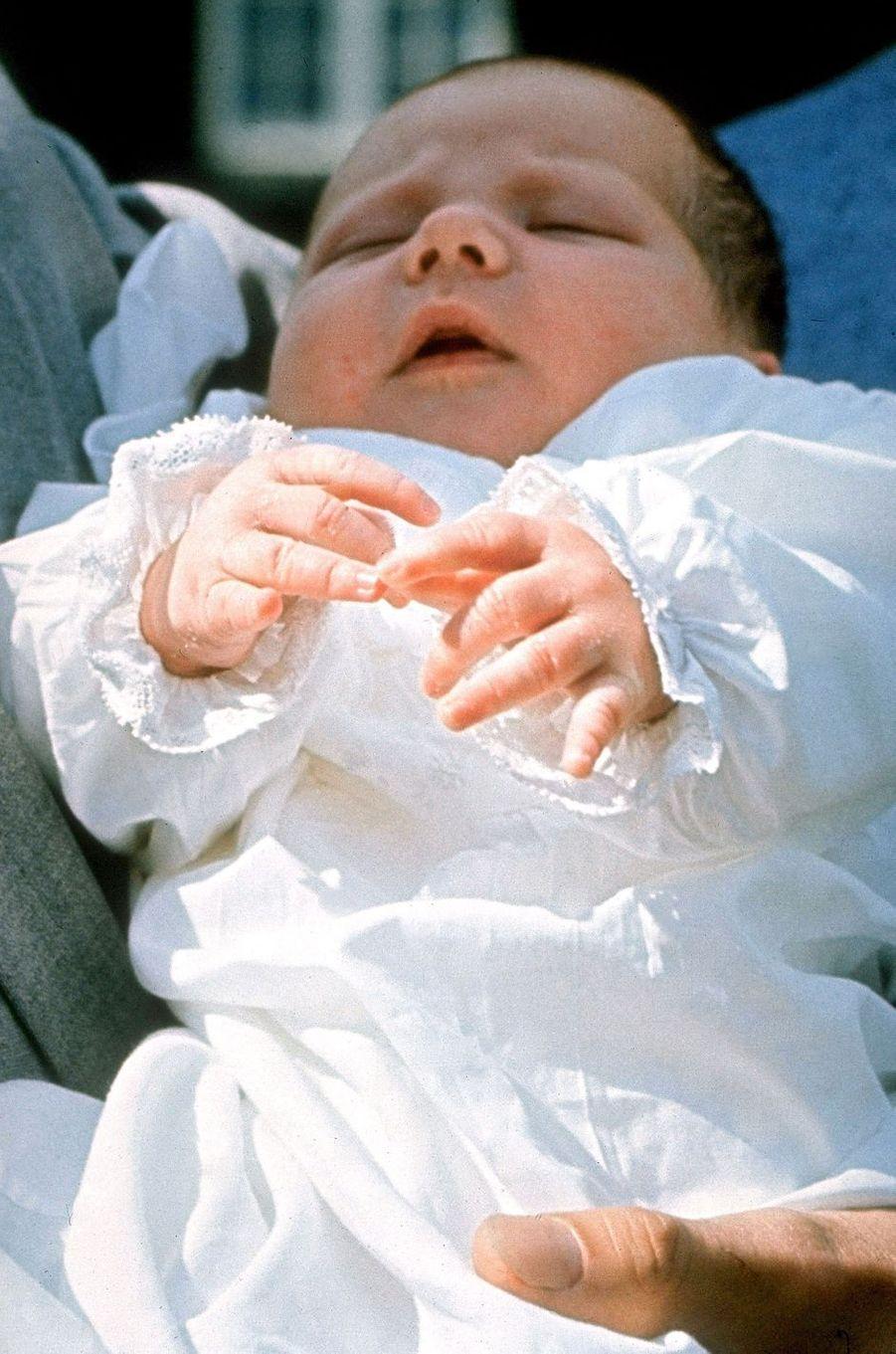 Le prince Frederik de Danemark le 8 juin 1968