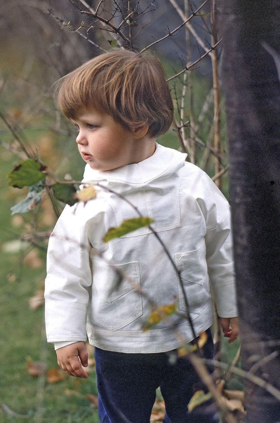 Le prince Frederik de Danemark le 26 octobre 1970