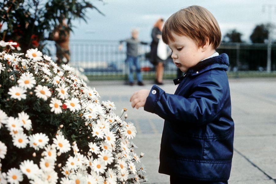 Le prince Frederik de Danemark en 1970