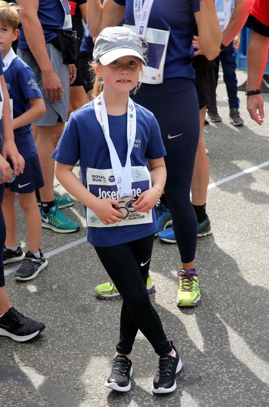 La princesse Josephine de Danemark à la Royal Run à Copenhague, le 21 mai 2018