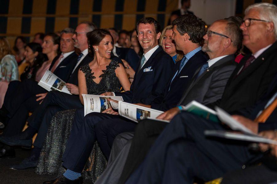 La princesse Marie et le prince Joachim de Danemark à Klampenborg, le 3 juin 2019