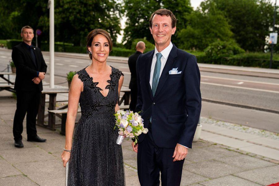 Le prince Joachim et la princesse Marie de Danemark à Klampenborg, le 3 juin 2019