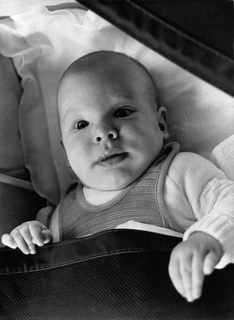 Le prince Joachim de Danemark, en septembre 1969