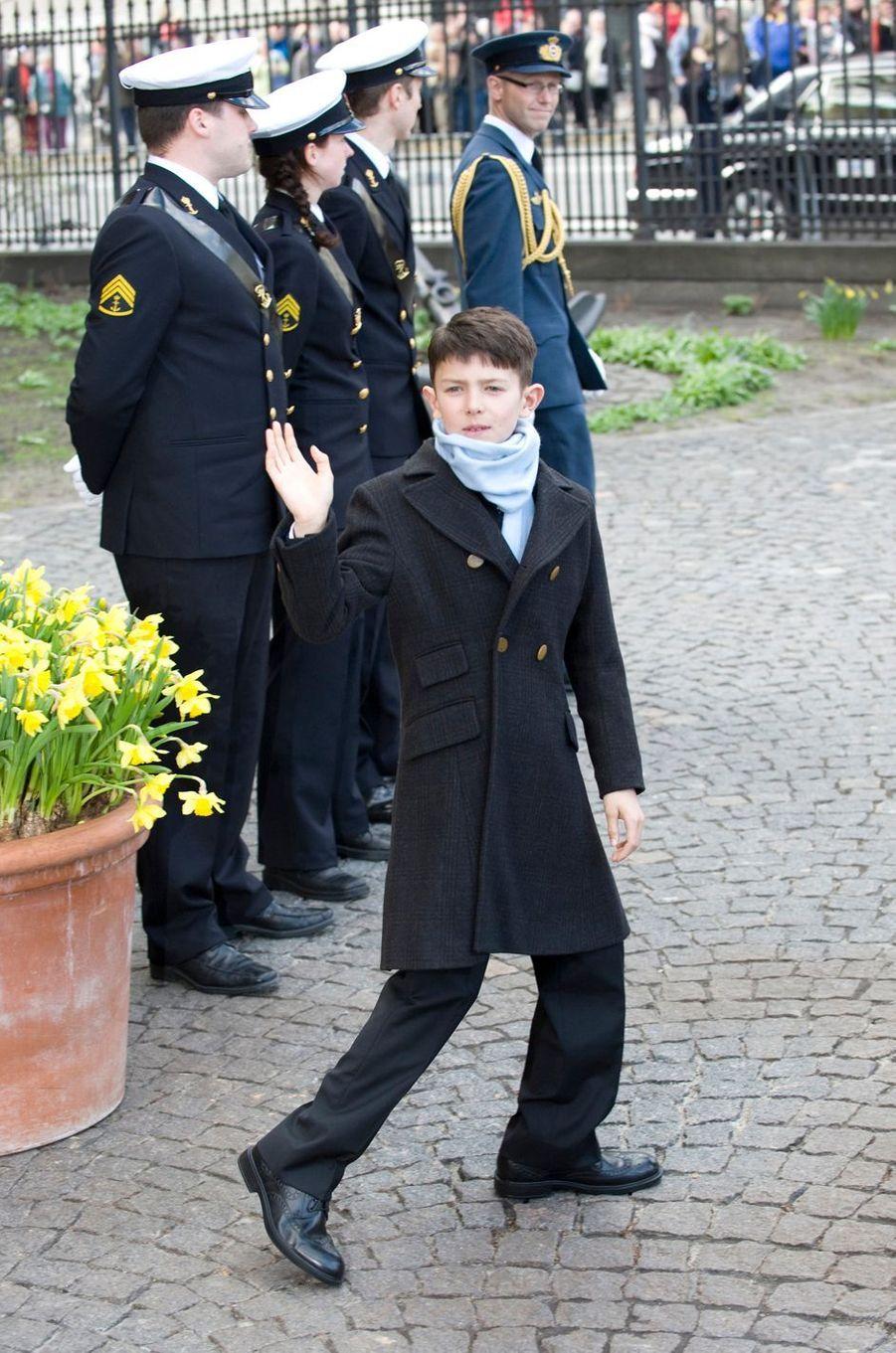 Le prince Nikolai de Danemark, le 14 avril 2011