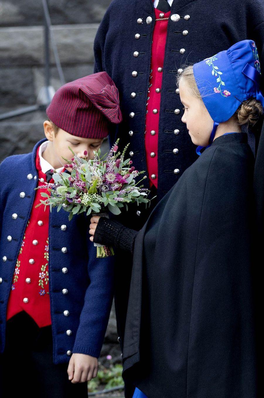 La princesse Josephine et le prince Vincent de Danemark aux îles Féroé, le 23 août 2018