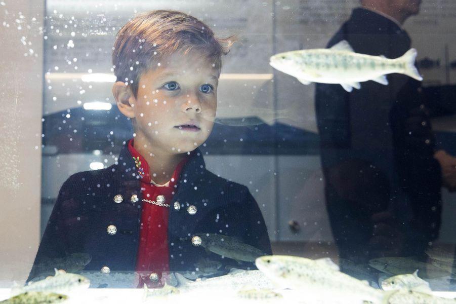 Le prince Vincent de Danemark aux îles Féroé, le 25 août 2018