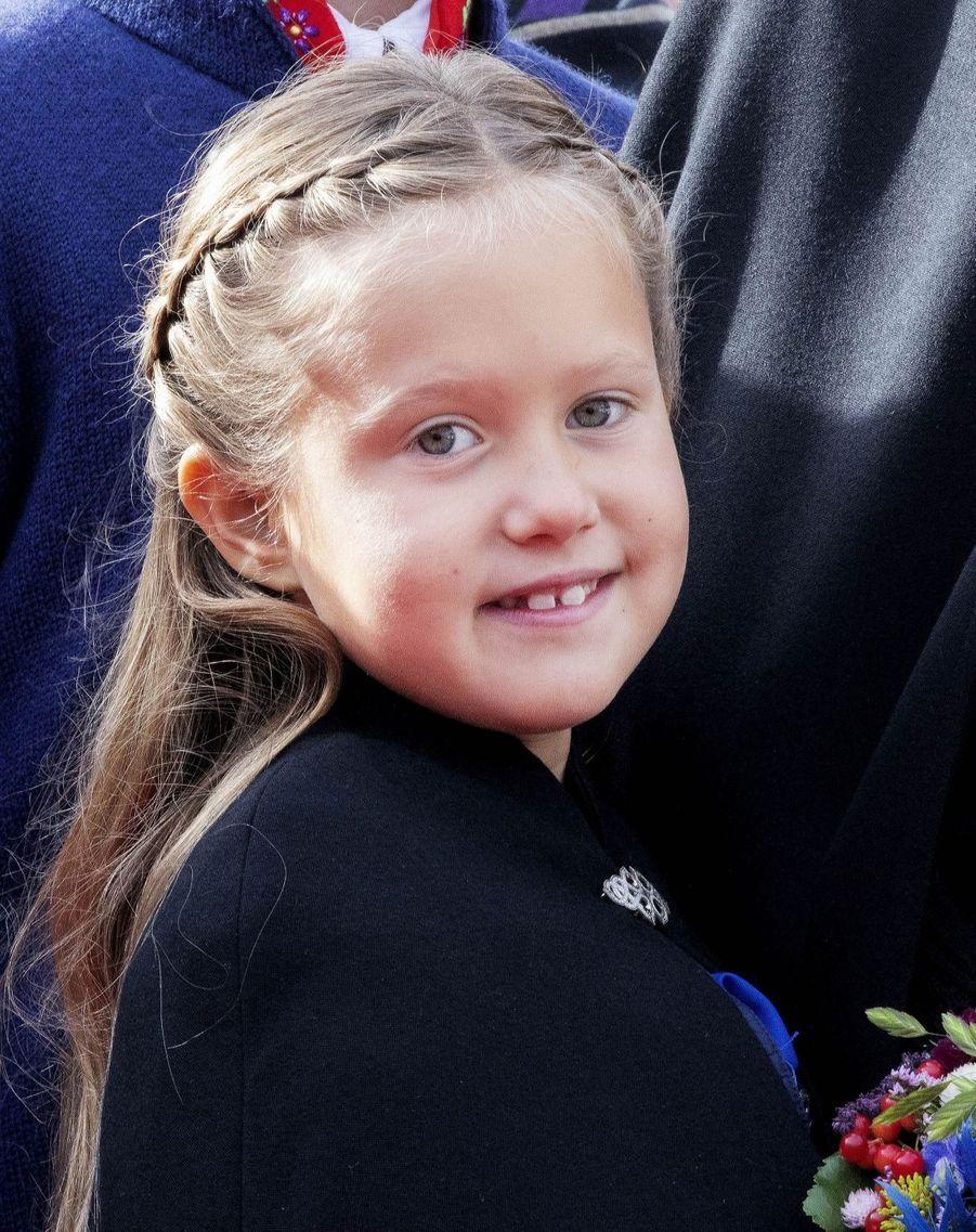 La princesse Josephine de Danemark aux îles Féroé, le 25 août 2018