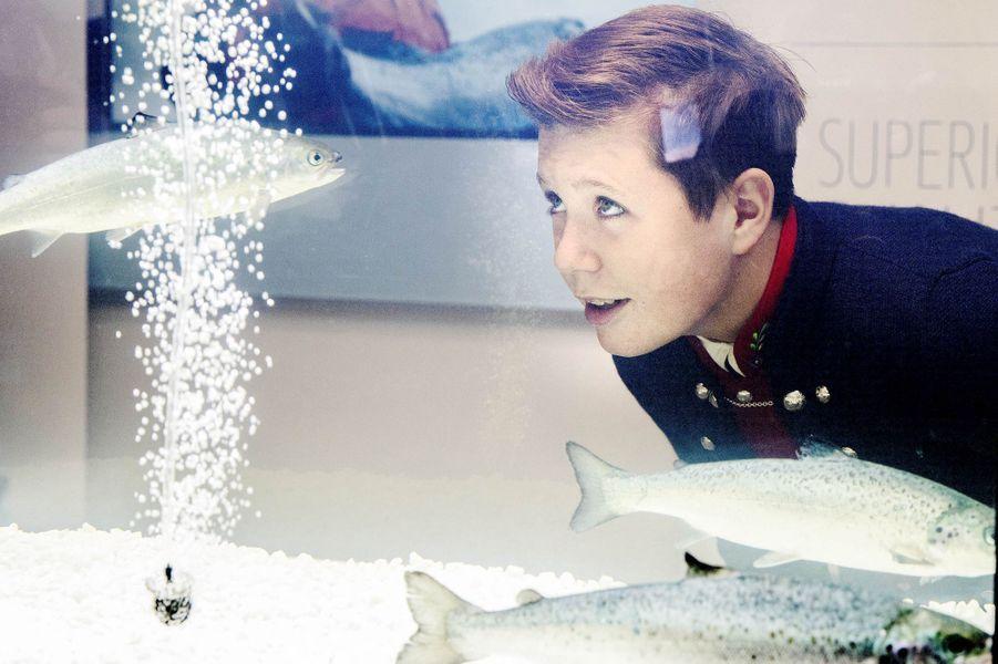 Le prince Christian de Danemark aux îles Féroé, le 25 août 2018