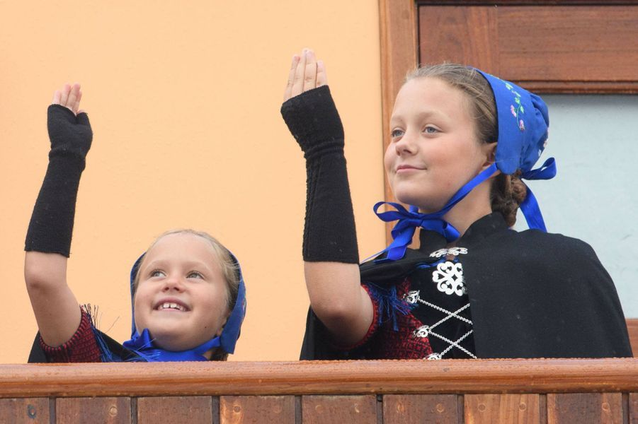 Les princesses Josephine et Isabella de Danemark aux îles Féroé, le 23 août 2018