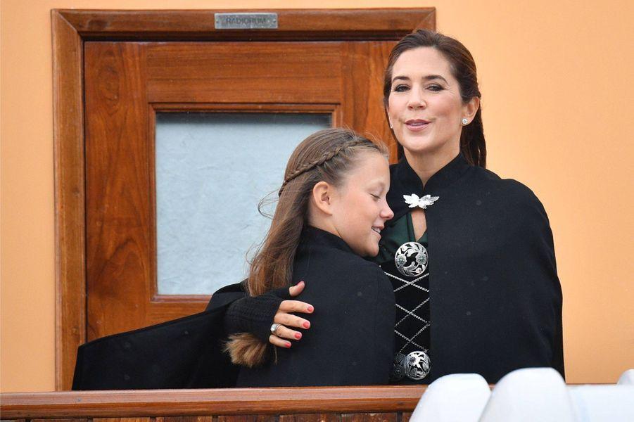 Les princesses Isabella et Mary de Danemark aux îles Féroé, le 23 août 2018