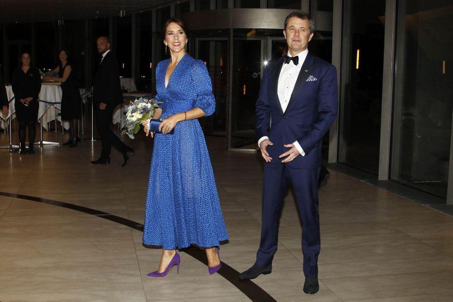 La princesse Mary et le prince héritier Frederik de Danemark à Copenhague, le 10 octobre 2018