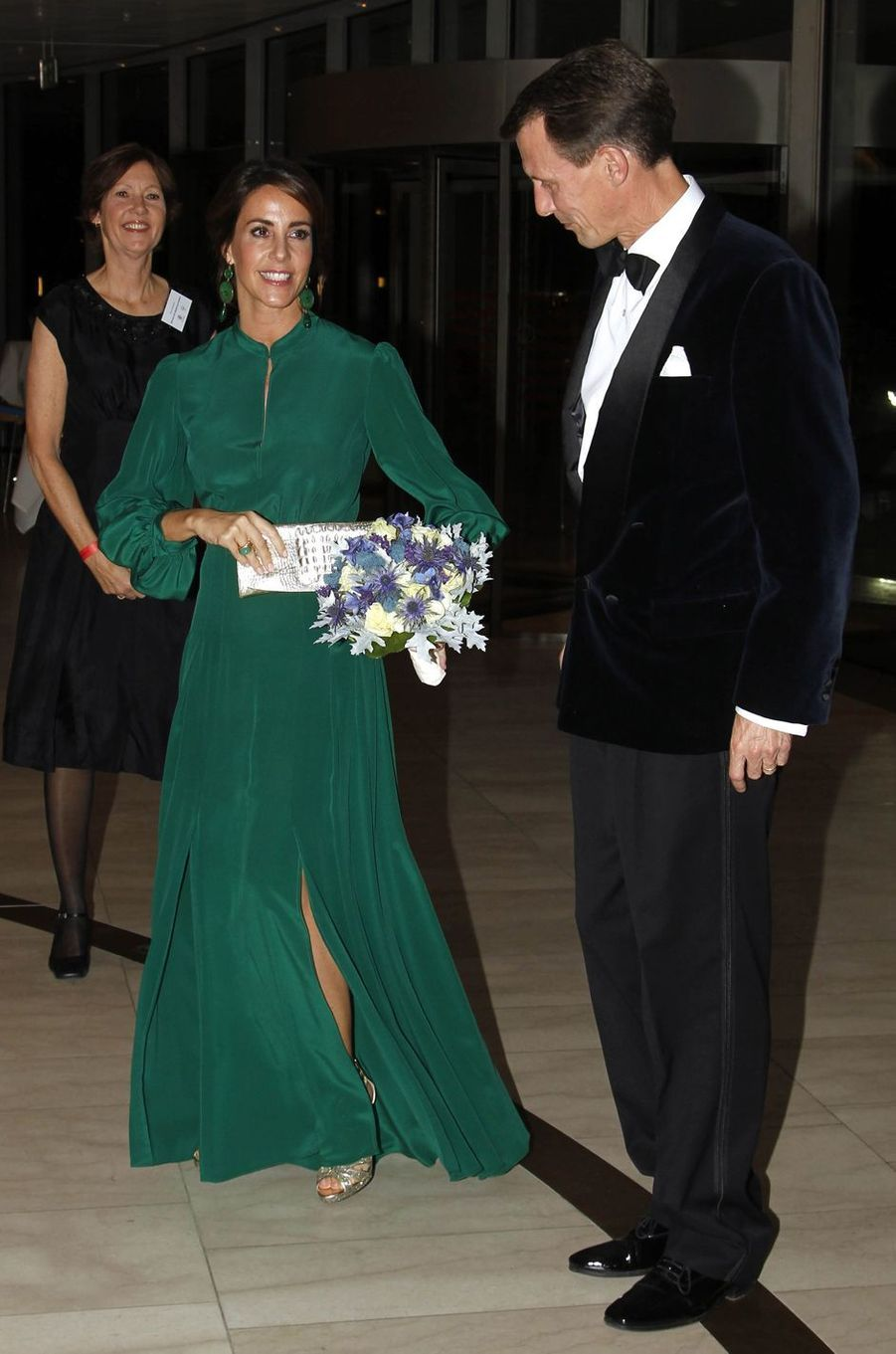 La princesse Marie et le prince Joachim de Danemark à Copenhague, le 10 octobre 2018
