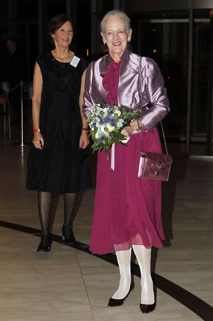 La reine Margrethe II de Danemark à Copenhague, le 10 octobre 2018