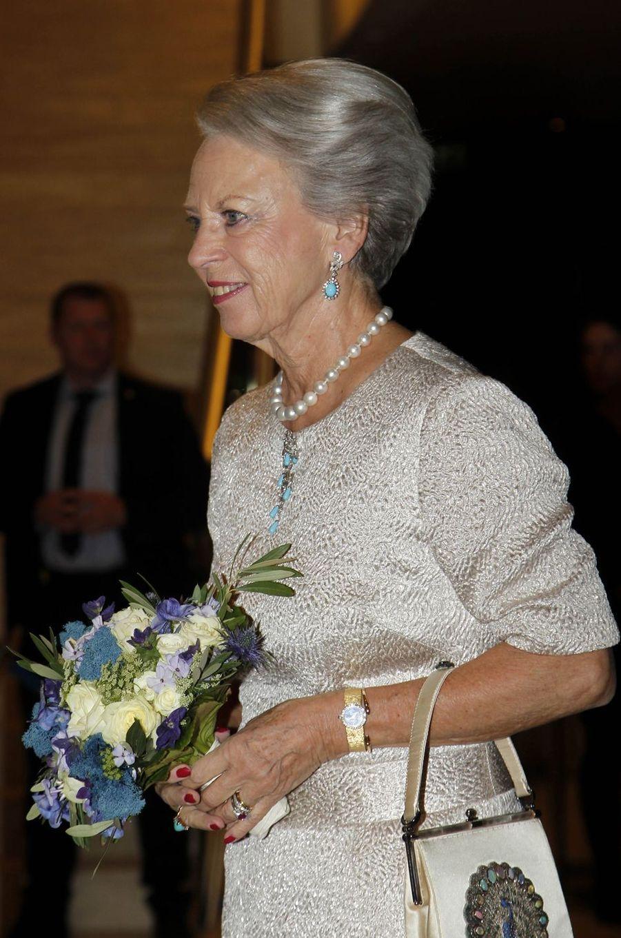 La princesse Benedikte de Danemark à Copenhague, le 10 octobre 2018