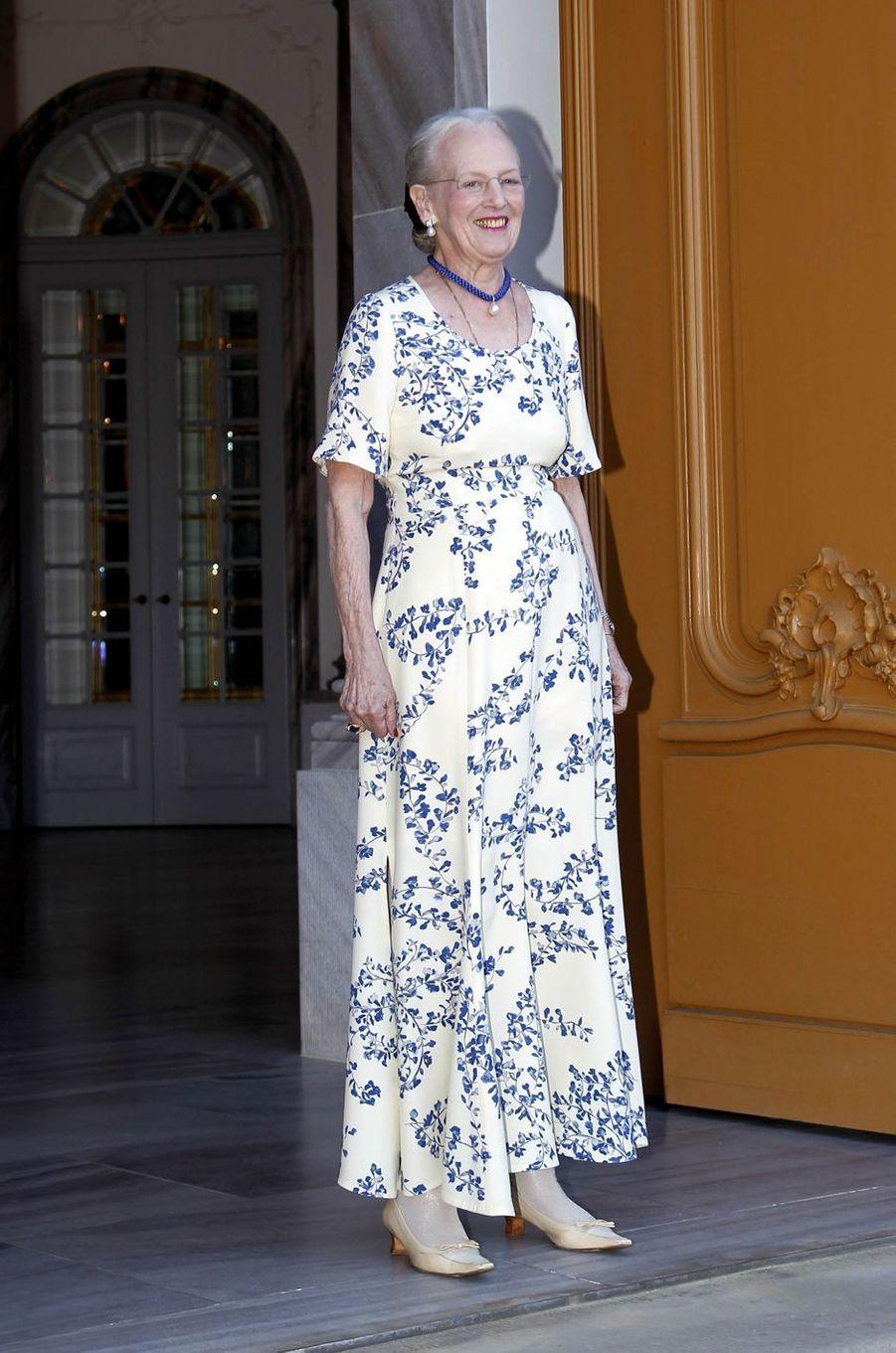 La reine Margrethe II de Danemark à Copenhague, le 7 juin 2019
