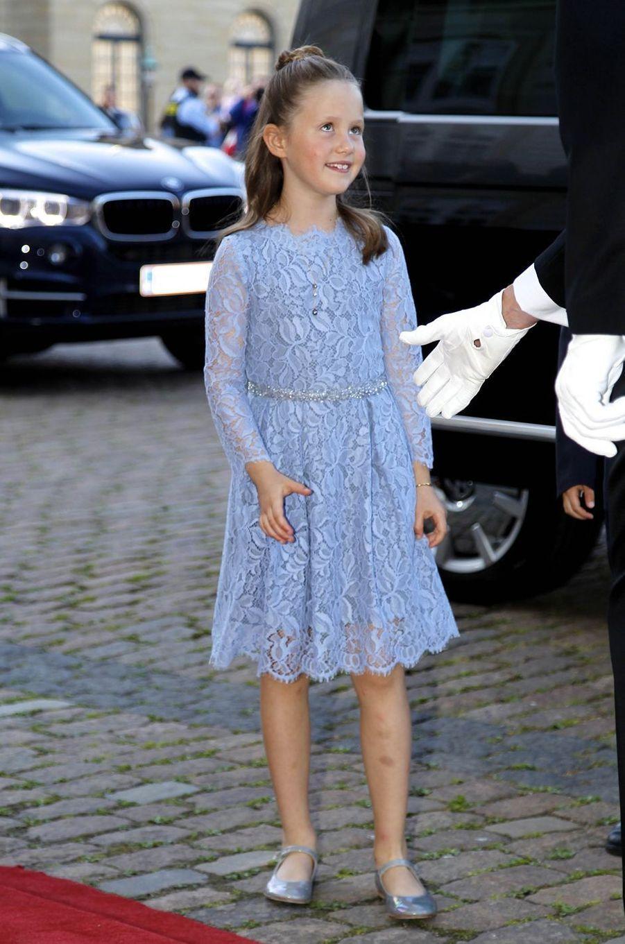 La princesse Josephine de Danemark à Copenhague, le 7 juin 2019