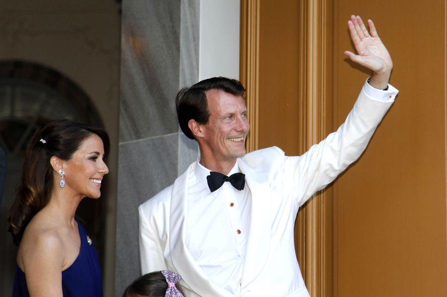 La princesse Marie et le prince Joachim de Danemark à Copenhague, le 7 juin 2019