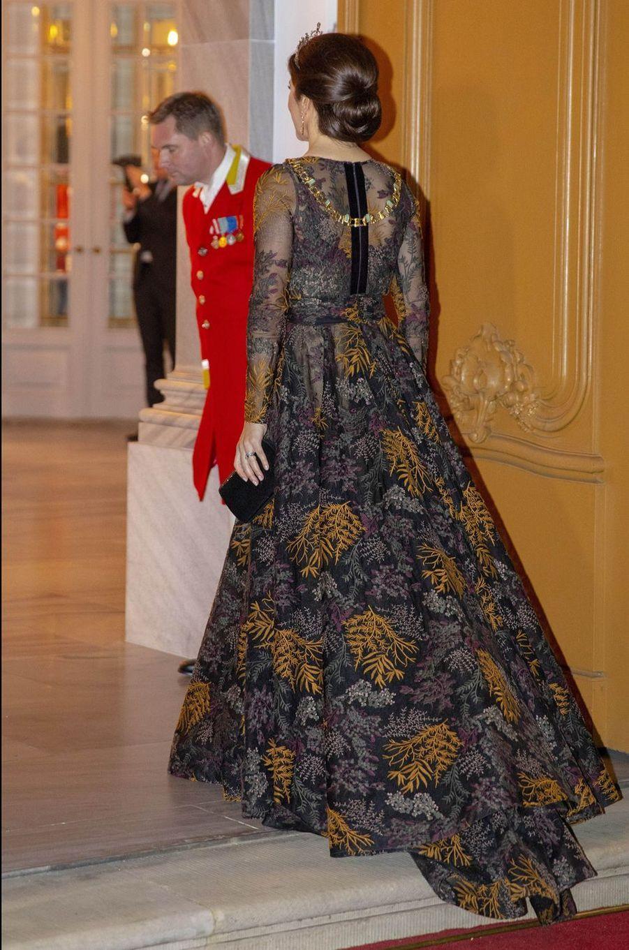 La princesse Mary de Danemark à Copenhague, le 1er janvier 2019