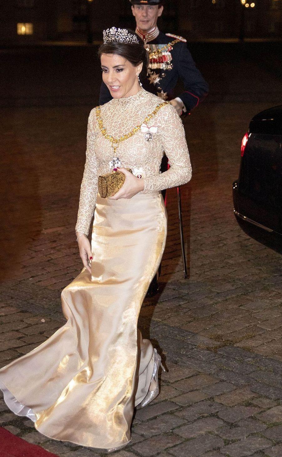La princesse Marie de Danemark à Copenhague, le 1er janvier 2019