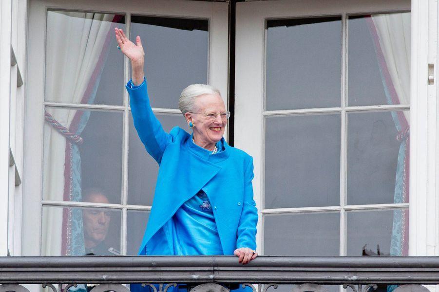 La reine Margrethe II de Danemark à Copenhague, le 16 avril 2016