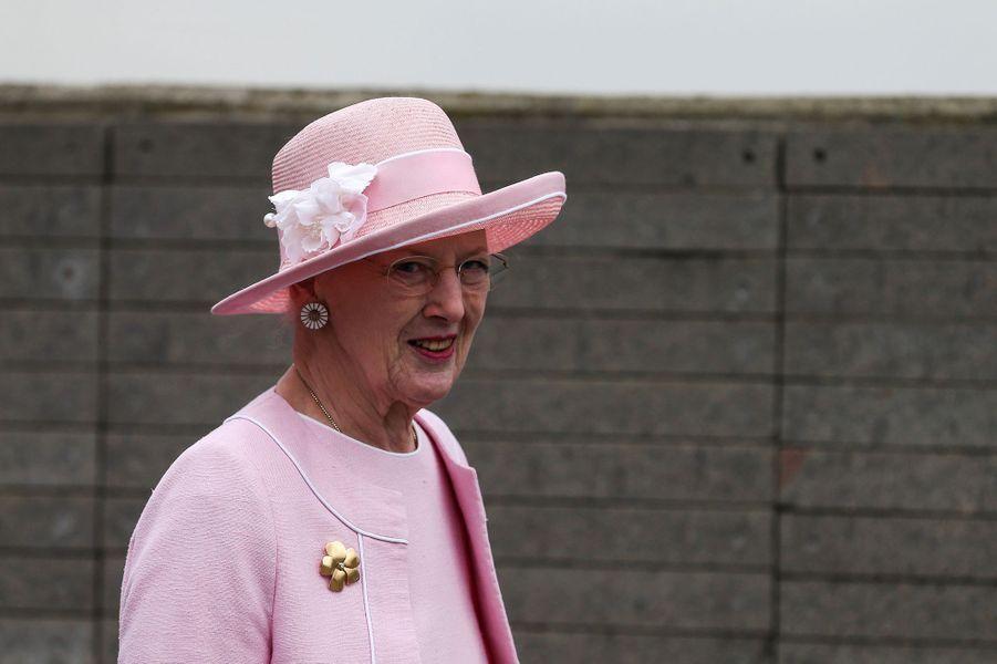 La reine Margrethe II de Danemark à Buenos Aires en Argentine, le 19 mars 2019