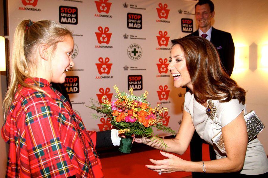 La princesse Marie de Danemark à Copenhague, le 23 novembre 2016