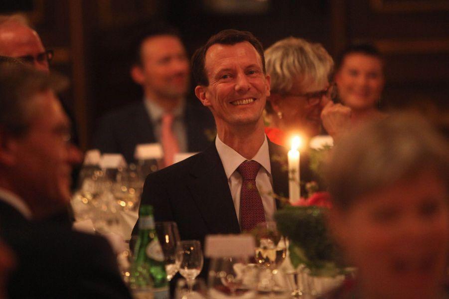 Le prince Joachim de Danemark à Copenhague, le 23 novembre 2016