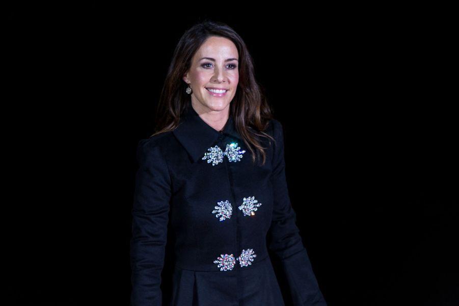 La princesse Marie de Danemark à Paris, le 15 novembre 2017