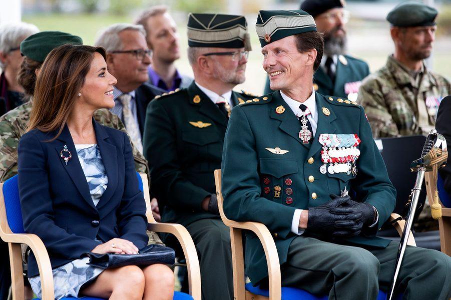 La princesse Marie et le prince Joachim de Danemark à Varde, le 15 août 2018