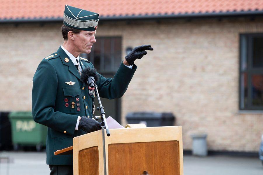 Le prince Joachim de Danemark à Varde, le 15 août 2018