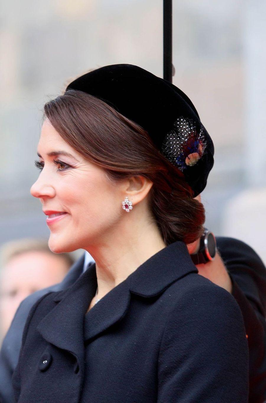 La princesse Mary de Danemark à Copenhague, le 2 octobre 2018
